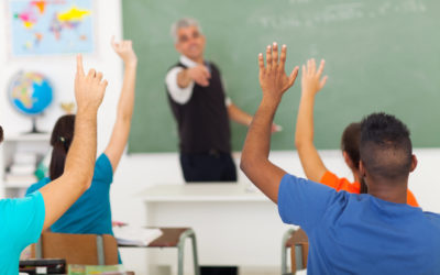 Corporate Involvement in Substitute Teaching Program Leads to Tremendous Impact